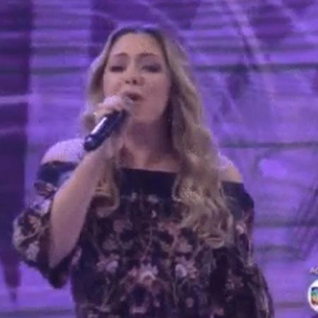"""Tânia Mara se apresenta no """"Encontro"""" - Reprodução/TV Globo"""