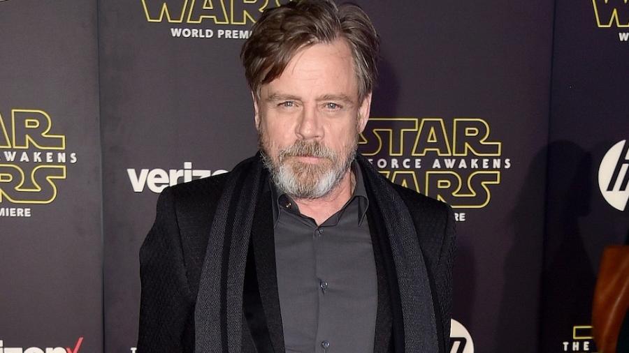 """O ator Mark Hamill, astro da saga """"Star Wars"""" - Frazer Harrison/Getty Images"""