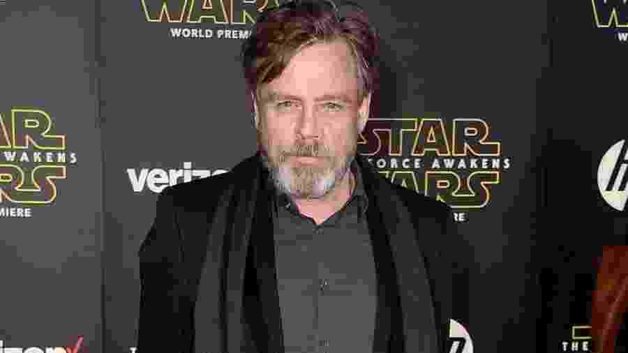 "O ator Mark Hamill, astro da saga ""Star Wars"" - Frazer Harrison/Getty Images"