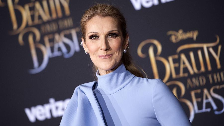 """Céline Dion participa da pré-estreia mundial da adaptação com atores da Disney de """"A Bela e a Fera"""" em Hollywood - Valerie Macon/AFP"""