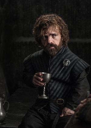 """Tyrion Lannister (Peter Dinklage) em cena de """"Game of Thrones"""""""