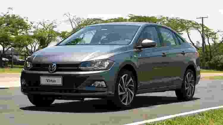 Volkswagen Virtus - Marcelo Ferraz/UOL - Marcelo Ferraz/UOL