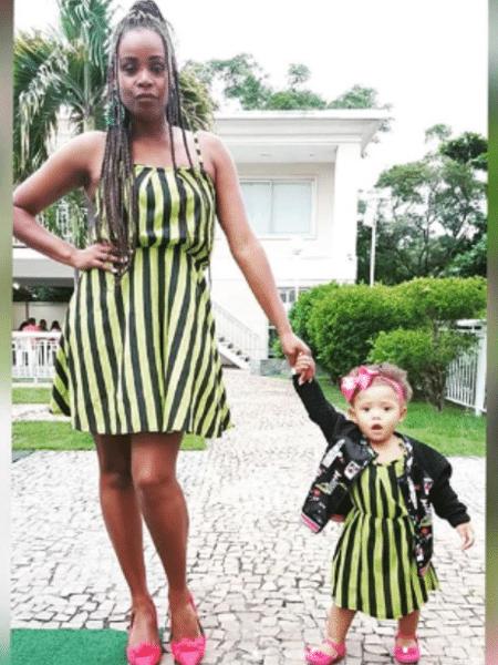 Roberta Rodrigues e Linda Flor combinam os looks - Reprodução/Instagram