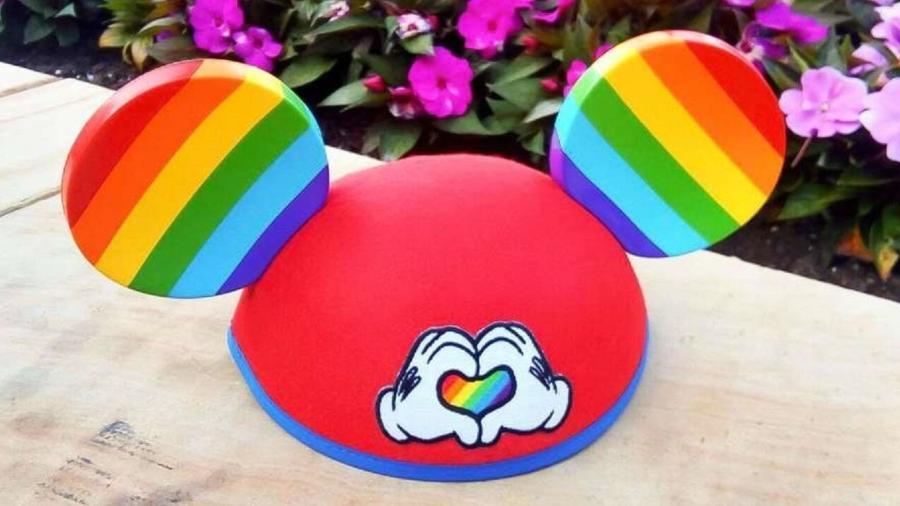 Orelhas do Mickey homenageiam movimento LGBT - Divulgação