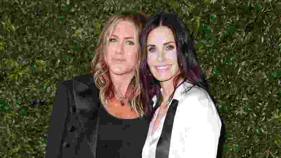 Jennifer Aniston e Courtney Cox - Getty Images