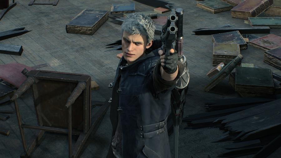 """Nero é um dos protagonistas de """"Devil May Cry 5"""" - Divulgação"""