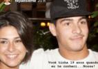 Fernanda Paes Leme homenageia o ex, Thiago Martins: