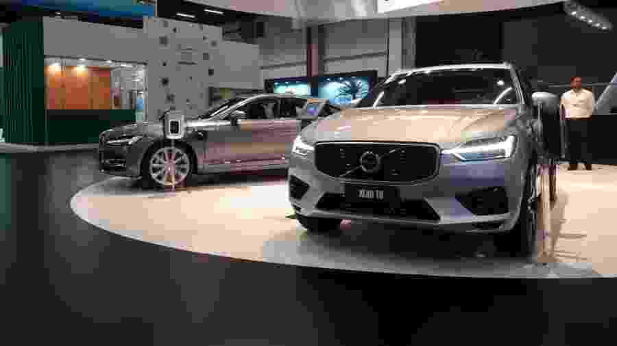 Volvo XC60 T8 e S90 T8 se juntam ao XC90 T8 e formam o novo trio de carros híbridos da marca - Vitor Matsubara/UOL