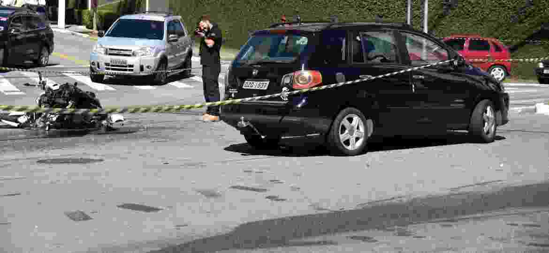 Motociclistas, ciclistas e pedestres são 54% dos mortos em acidentes de trânsito - Ronaldo Silva/Futurapress/Folhapress