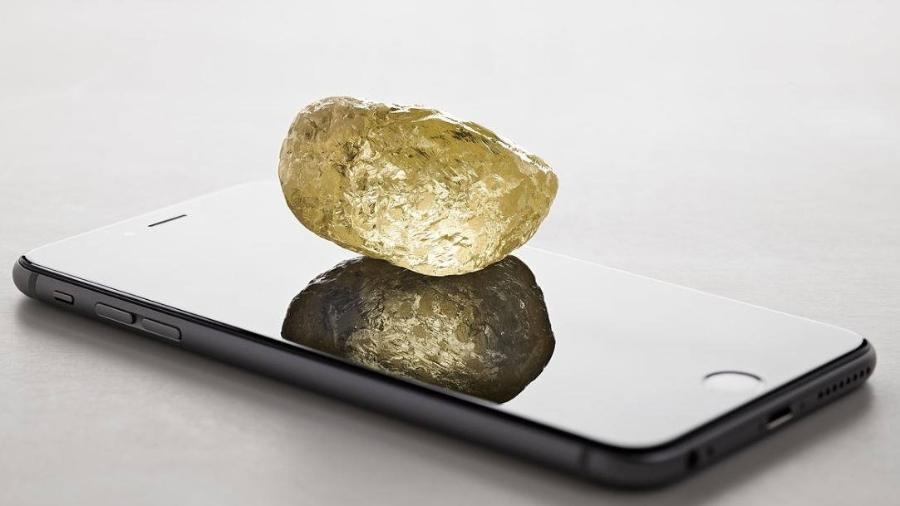 O maior diamante já encontrado na América do Norte tem quase o triplo do tamanho da segunda maior pedra do ranking - Dominion Diamond Mines/Divulgação