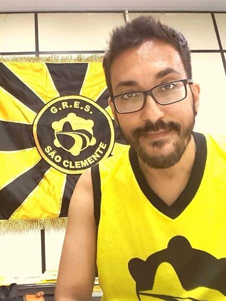 Jorge Silveira, carnavalesco da São Clemente - Divulgação