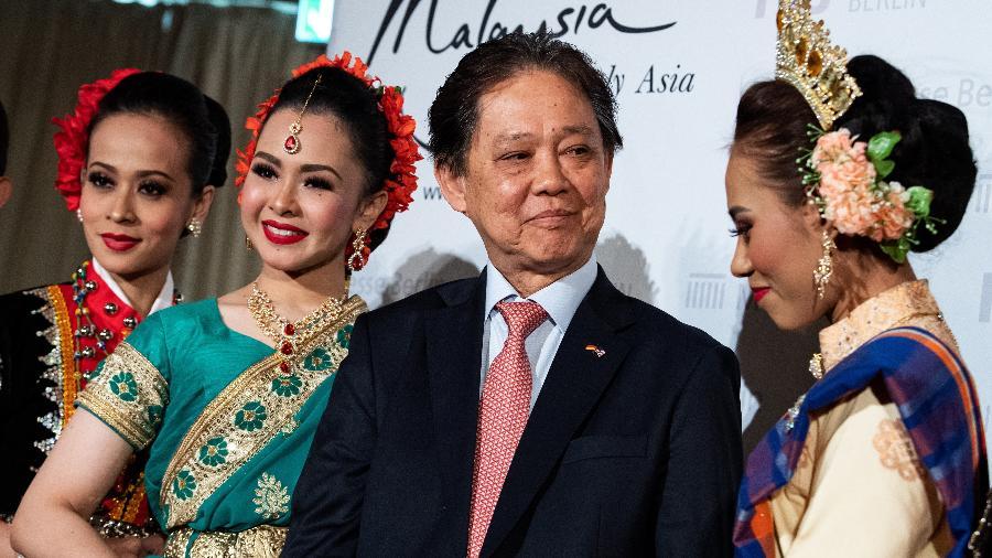 Datuk Mohamaddin bin Ketapi, ministro de Turismo, Artes e Cultura da Malásia - Getty Images