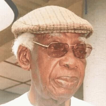 O poeta nigeriano Gabriel Okara - Reprodução