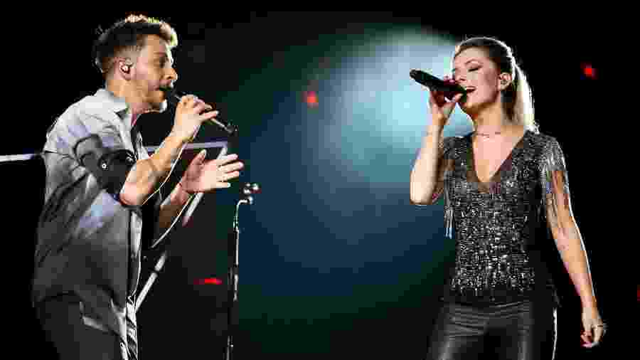 Sandy e Junior fazem em Recife primeiro show da turnê Nossa História - Manuela Scarpa/Brazil News
