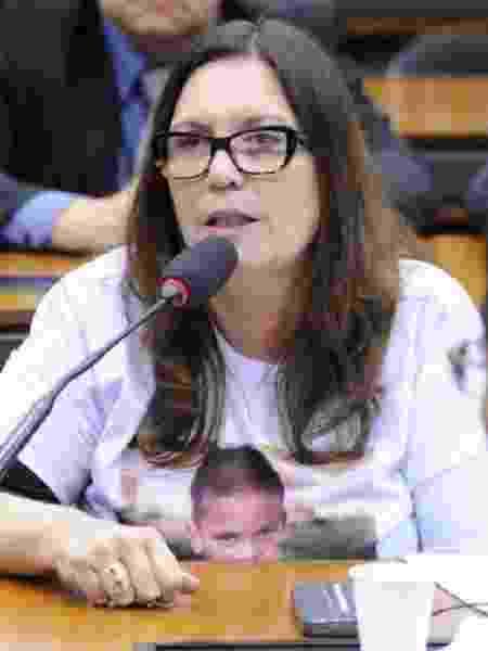 Deputada Bia Kicis em audiência pública na Câmara dos Deputados - Cleia Viana/Câmara dos Deputados