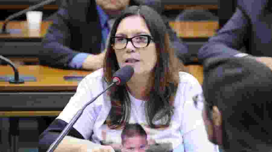Deputada Bia Kicis em audiência pública - Cleia Viana/Câmara dos Deputados