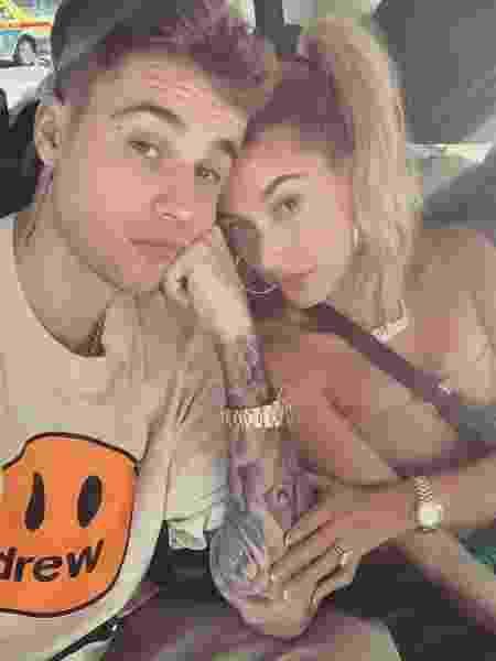Justin Bieber e a mulher, Hailey Bieber - reprodução/Instagram