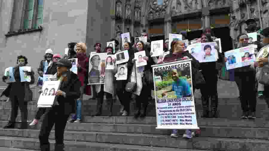Grupo Mães da Sé, que reúne mães de desaparecidos - Divulgação