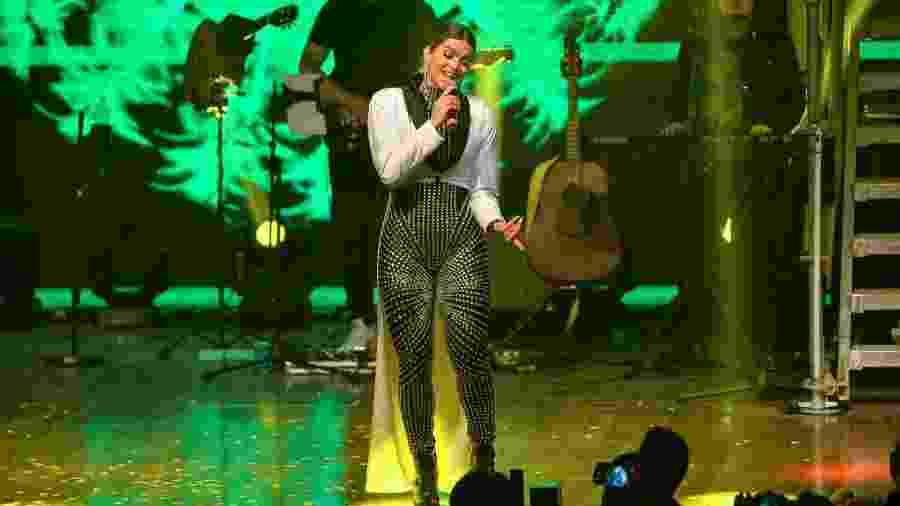 Kelly Key durante show na Audio Club, em São Paulo - Francisco Cepeda/AgNews