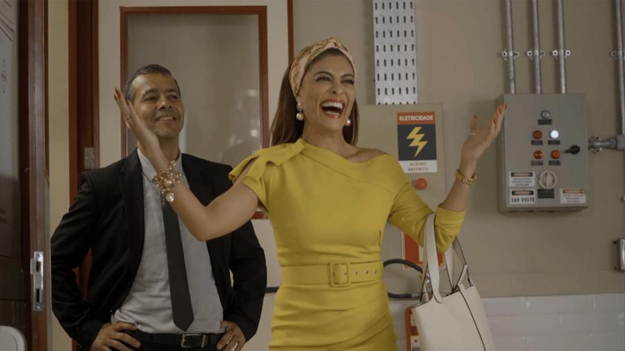 Maria da Paz (Juliana Paes) reassume a fábrica  - TV Globo