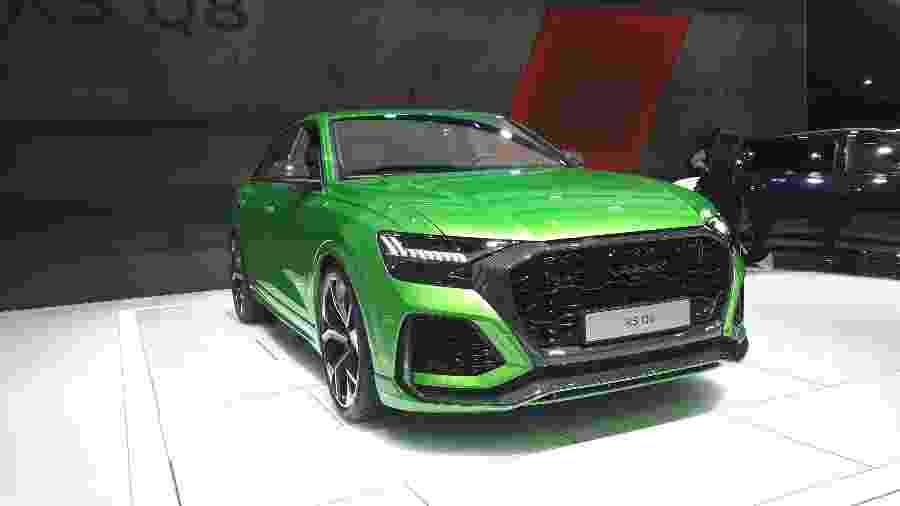 Audi RS Q8 traz rodas de até 23 polegadas, detalhes em fibra de carbono e motor V8 biturbo capaz de render 600 cv - Vitor Matsubara/UOL