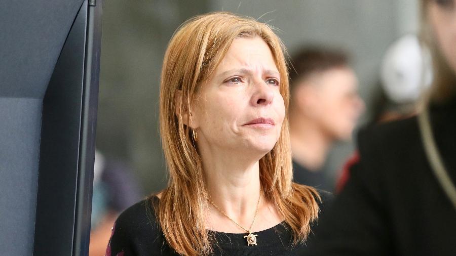 Rose Miriam chora em velório de Gugu - Manuela Scarpa e Marcos Ribas/Brazil News
