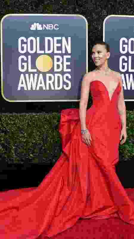 A atriz Scarlett Johansson concorre a melhor atriz pelo filme Histórias de um Casamento  - Valerie Macon/AFP - Valerie Macon/AFP