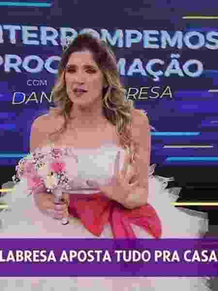 """Dani Calabresa estreia quadro no """"Se Joga"""" - Reprodução/TV Globo"""