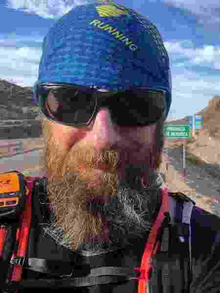 Juan Pablo Savonitti -ultramaratonista - Arquivo pessoal - Arquivo pessoal