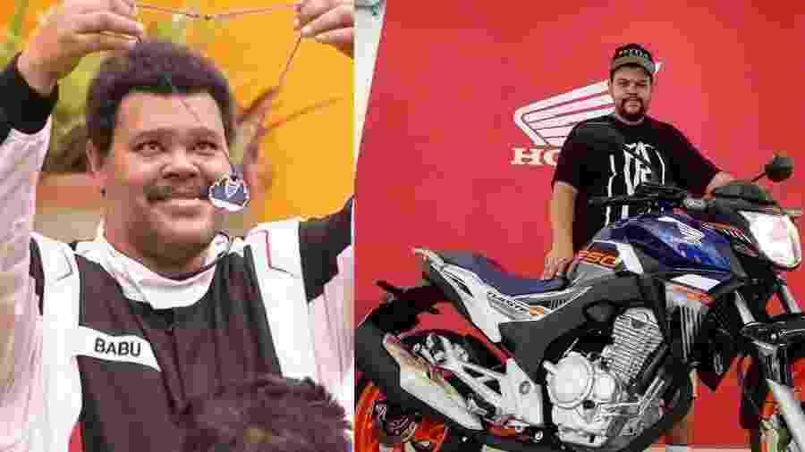 Babu mostra moto que ganhou no Big Brother Brasil - Reprodução/Instagram