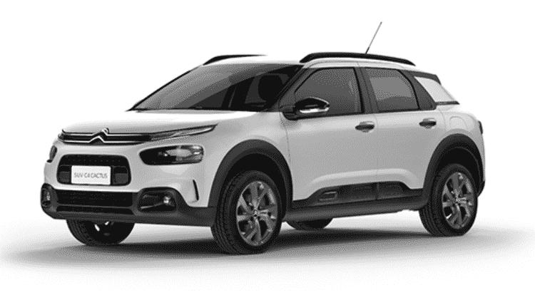 Citroën C4 Cactus Feel 1.6 automático 2021 - Divulgação - Divulgação