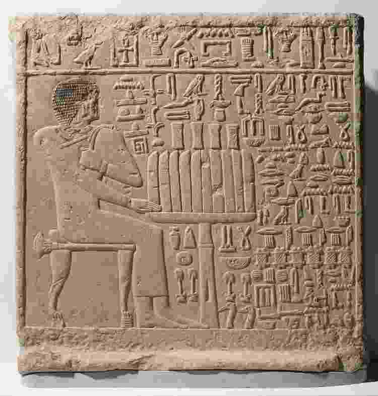 Stela de Setju, 2500?2350 a.C.  - Museu do Brooklyn - Museu do Brooklyn