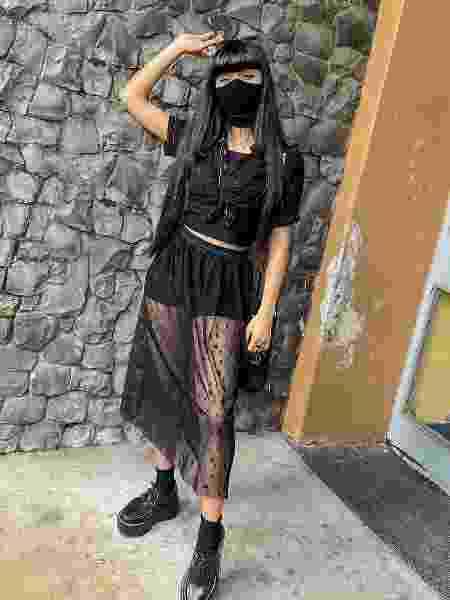 A estudante gaúcha - e bruxa moderna - Erica Vasconcelos.  - Reprodução/Instagram