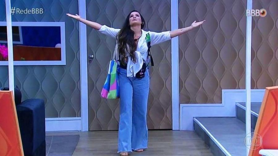 """Juliette foi a participante do grupo pipoca que mais ganhou seguidores no Instagram após a estreia do """"BBB 21"""" - Reprodução/Globo"""