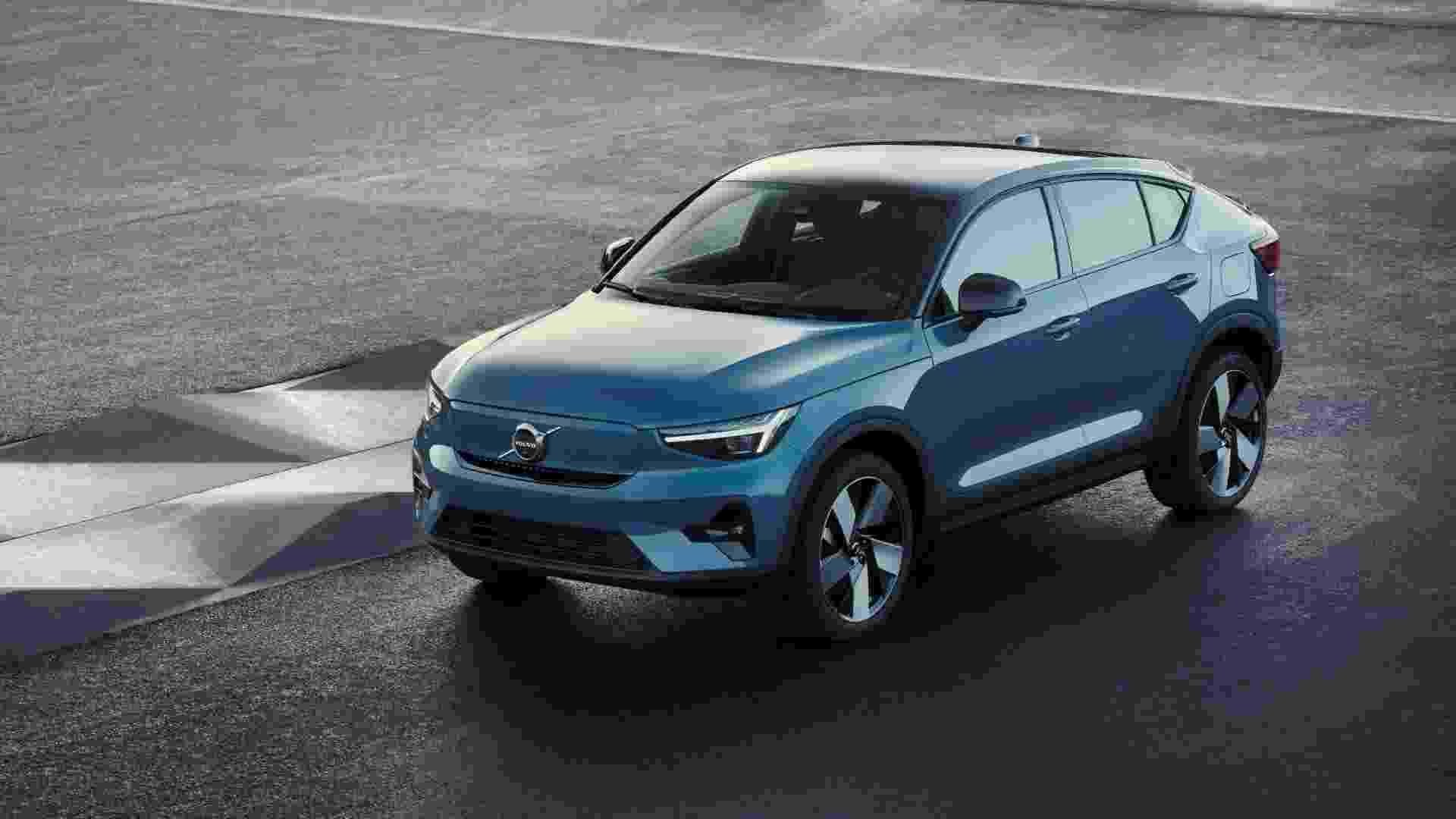 Volvo C40 Recharge, novo elétrico da marca - Divulgação