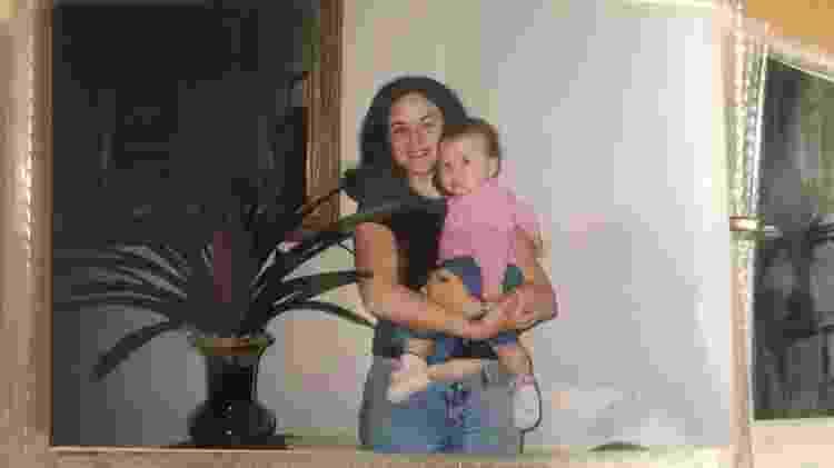 Malu, bebê, e a mãe - Arquivo pessoal - Arquivo pessoal