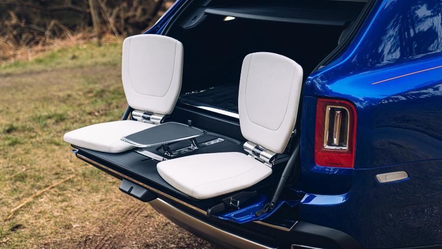 Módulo de Recreação para Rolls-Royce Cullinan  - Divulgação
