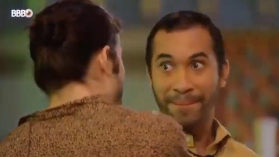 BBB 21: Gilberto fala com Fiuk sobre pretendentes fora do jogo - Reprodução/Globoplay