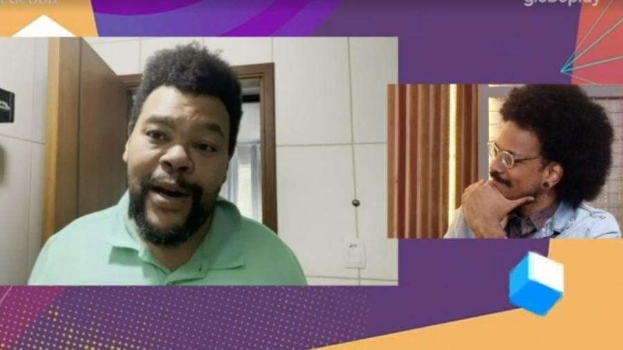 BBB 21: Babu manda recado para João Luiz após eliminação - Reprodução/ Globoplay