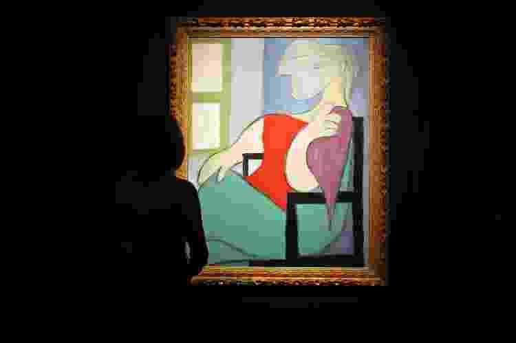 'Mulher Sentada Junto a uma Janela', de Pablo Picasso - Cindy Ord/Getty Images - Cindy Ord/Getty Images