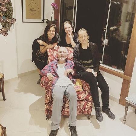 Clara Kutner, Bel Kutner, Ana Kutner e Paulo José  - Reprodução/Instagram