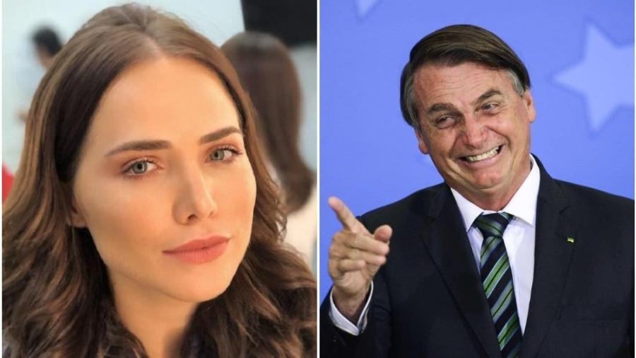 Letícia Colin teceu críticas ao governo do presidente Jair Bolsonaro - Reprodução / Agência Brasil