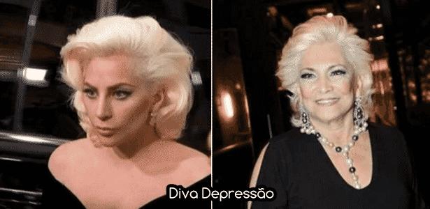 Diva - Gaga Hebe - Montagem/Diva Depressão - Montagem/Diva Depressão