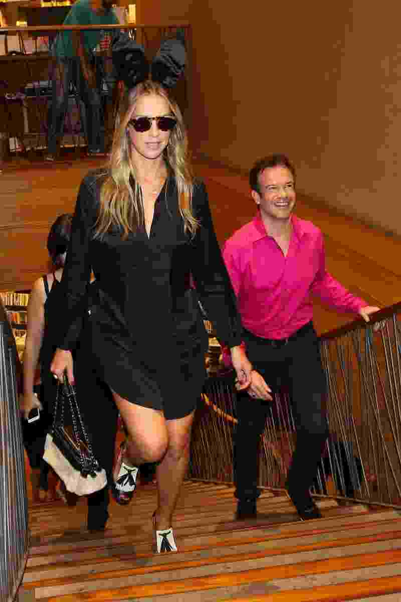 """4.fev.2015 - Luana Piovani chega para o lançamento da nova """"Playboy"""" na Livraria Cultura do Conjuto Nacional, em São Paulo - Manuela Scarpa/Brazil News"""