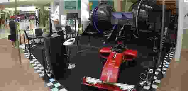 Na Arena, é possível simular três aventuras, incluindo um voo livre sobre o Rio de Janeiro - Divulgação