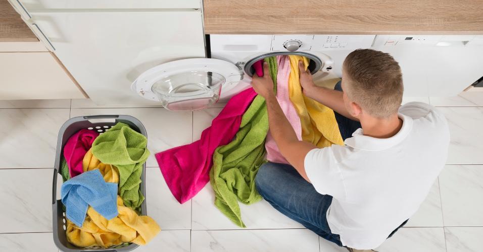 Em muito países, as casas não têm lavanderia. A lavadora fica na cozinha, banheiro ou em um espaço comum do prédio