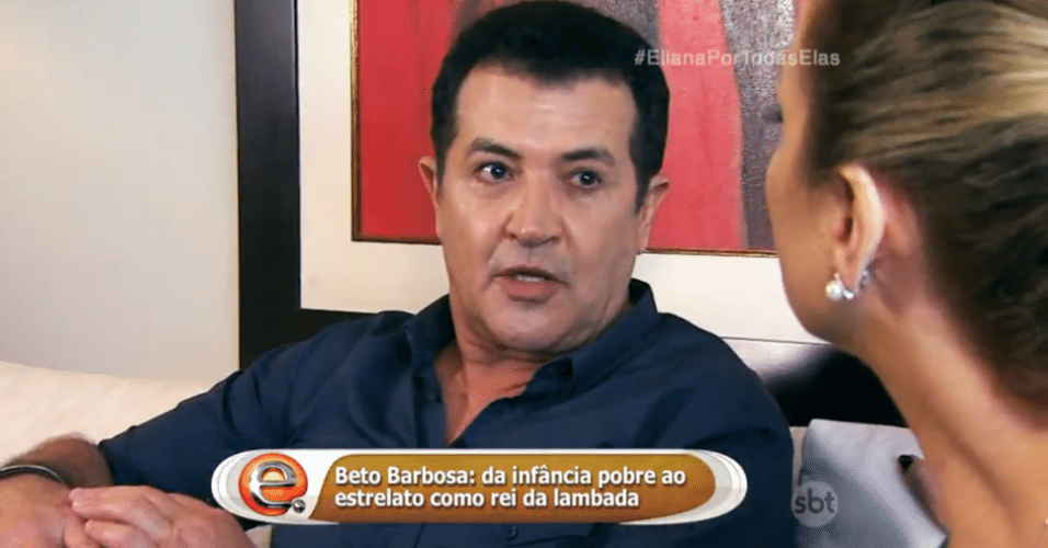 10.jul. 2016 - Beto Barbosa em entrevista ao programa