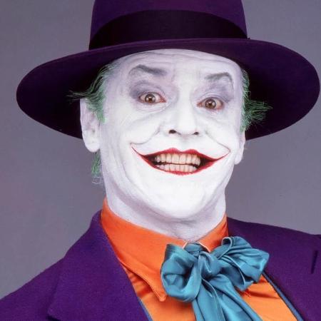 Jack Nicholson viveu o vilão no Batman de Tim Burton - Divulgação