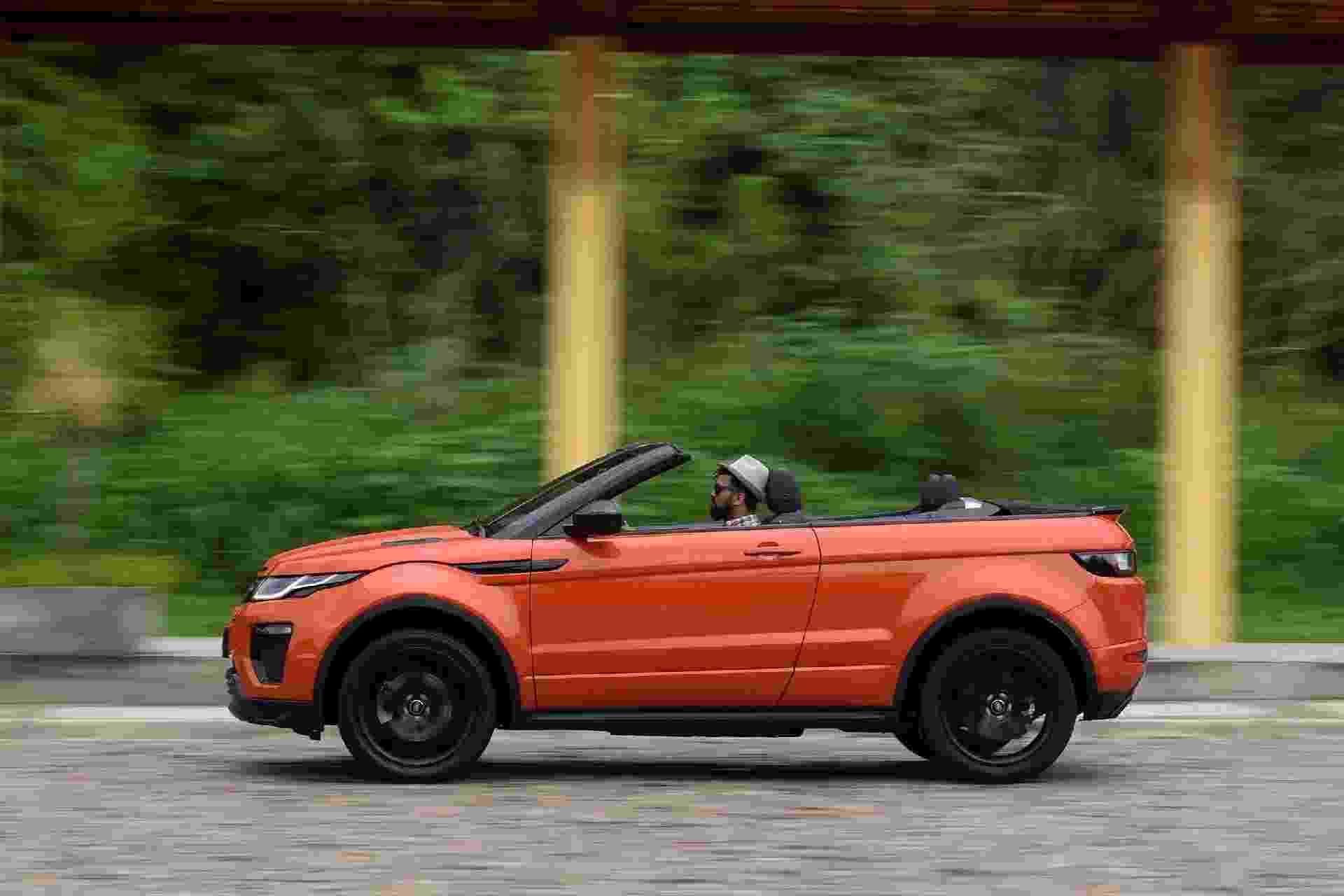 Range Rover Evoque Cabrio - Murilo Góes/UOL