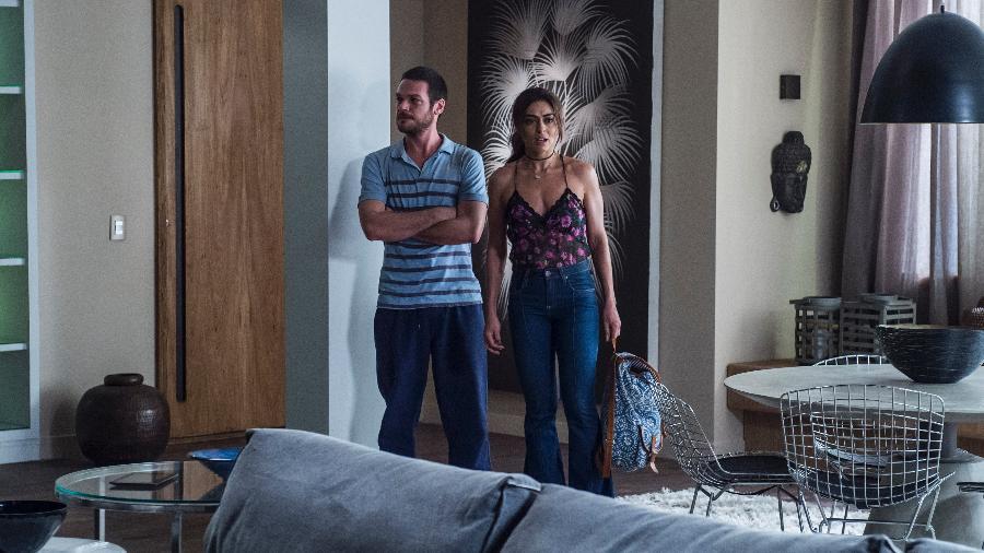"""Rubinho (Emilio Dantas) e Bibi (Juliana Paes) se escondem em apartamento de luxo em """"A Força do Querer"""" - Mauricio Fidalgo/TV Globo"""